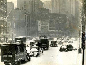 Boston, 1940, Adams Square