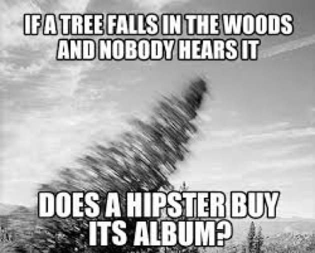 hipster tree falls